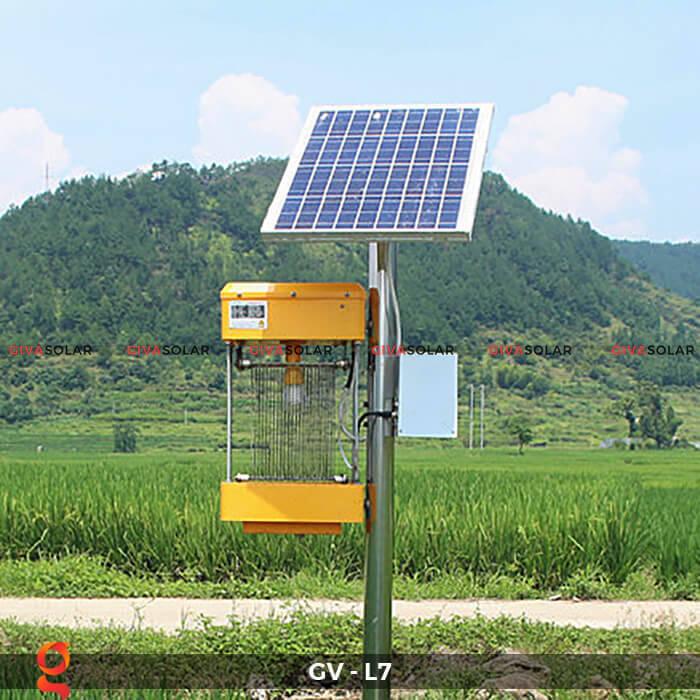 Đèn bắt côn trùng năng lượng mặt trời GV-MK-L7 1