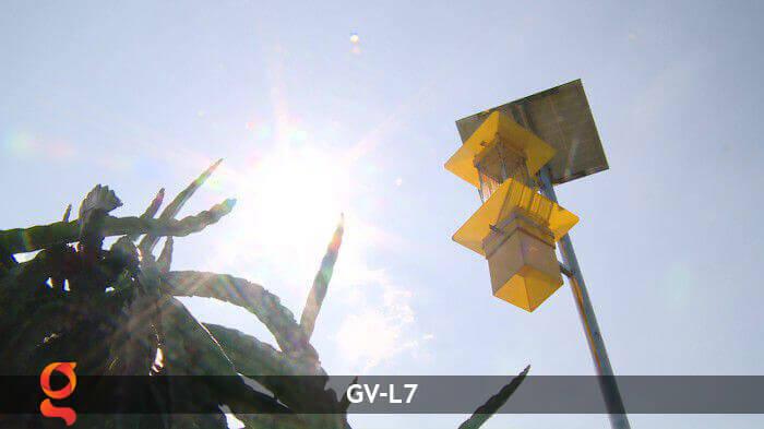 Đèn bắt côn trùng năng lượng mặt trời GV-MK-L7 15