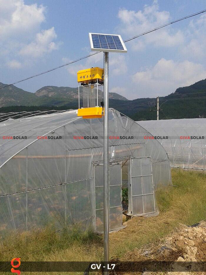 Đèn bắt côn trùng năng lượng mặt trời GV-MK-L7 7