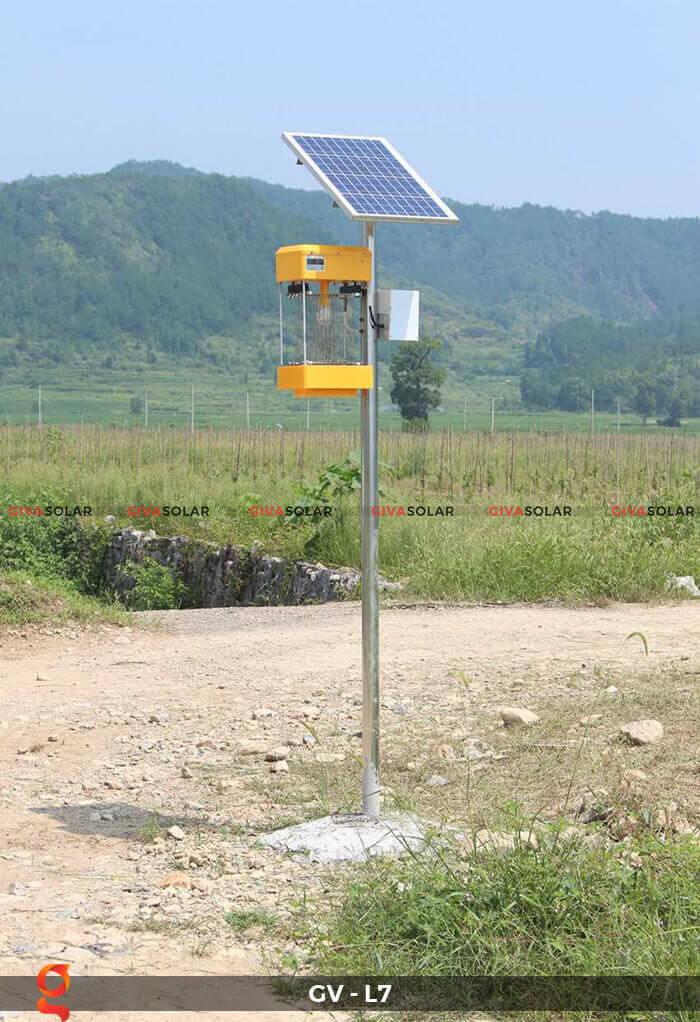 Đèn bắt côn trùng năng lượng mặt trời GV-MK-L7 9