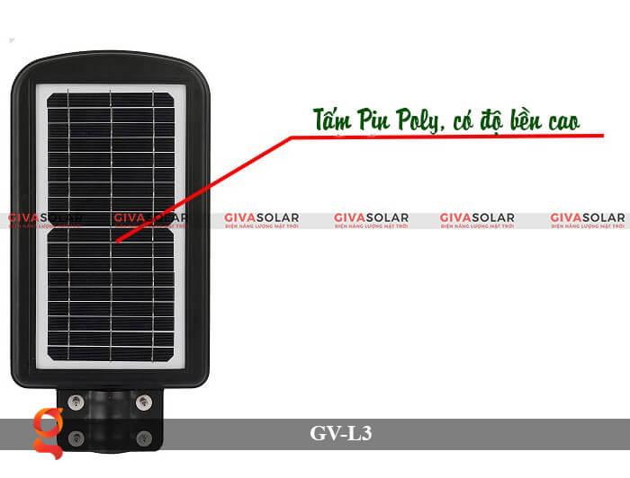 Đèn đường năng lượng mặt trời có cảm biến GV-SM-L3 20W 2