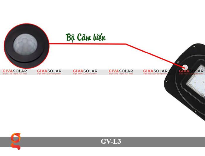 Đèn đường năng lượng mặt trời có cảm biến GV-SM-L3 20W 3