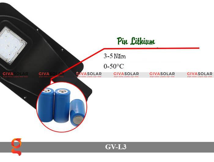 Đèn đường năng lượng mặt trời có cảm biến GV-SM-L3 20W 4