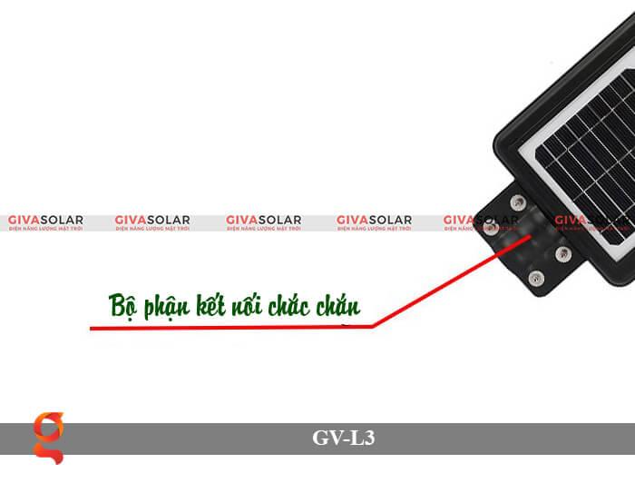 Đèn đường năng lượng mặt trời có cảm biến GV-SM-L3 20W 5