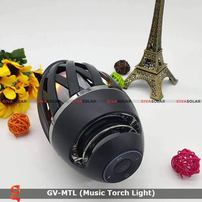 Đèn hiệu ứng ngọn lửa GV-MTL có loabluetooth 1