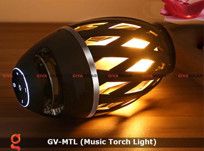 Đèn hiệu ứng ngọn lửa GV-MTL có loabluetooth 2