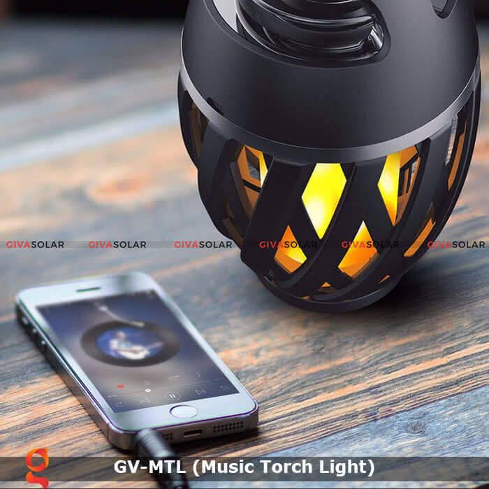 Đèn hiệu ứng ngọn lửa GV-MTL có loabluetooth 7