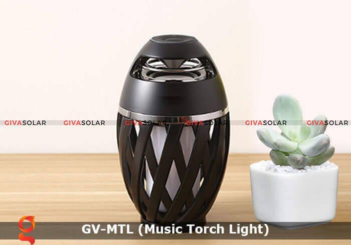 Đèn hiệu ứng ngọn lửa GV-MTL có loabluetooth 8