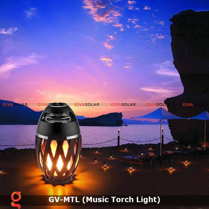 Đèn hiệu ứng ngọn lửa GV-MTL có loabluetooth 9