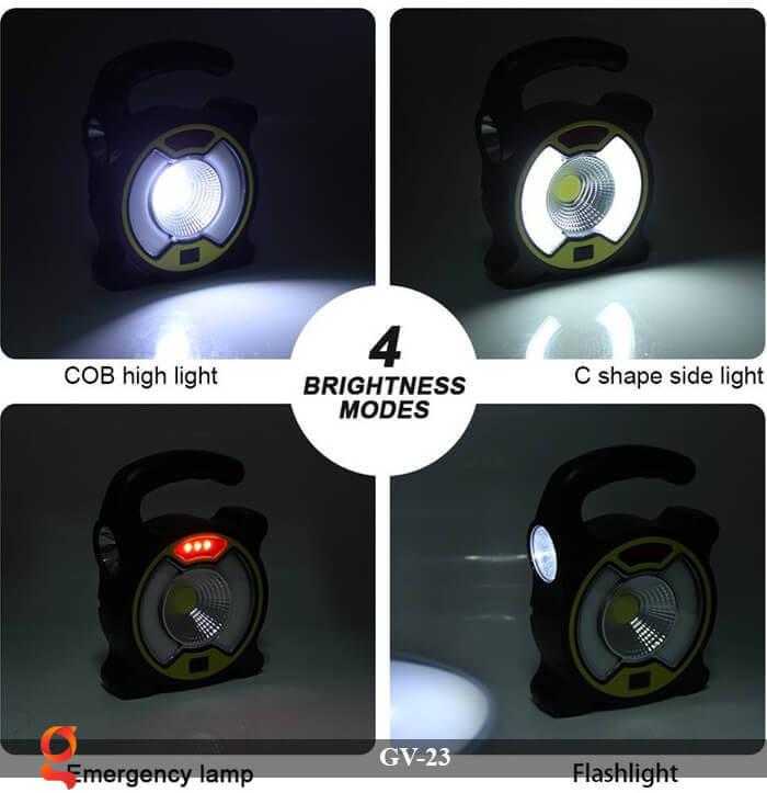 Đèn Led cầm tay năng lượng mặt trời GV-23 13