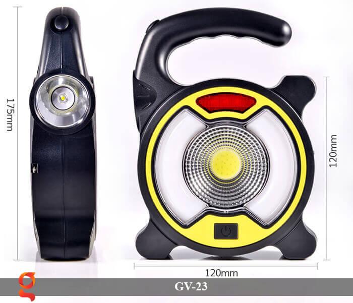 Đèn Led cầm tay năng lượng mặt trời GV-23 14