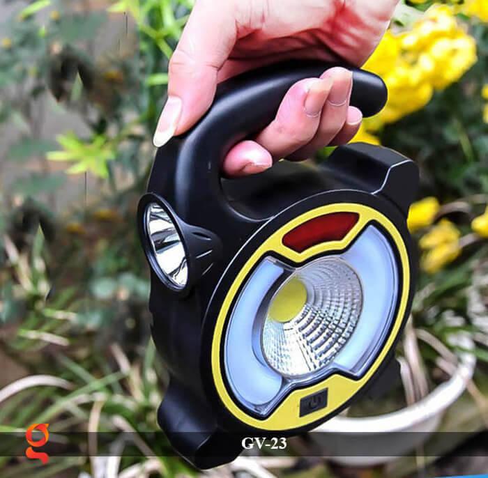 Đèn Led cầm tay năng lượng mặt trời GV-23 4