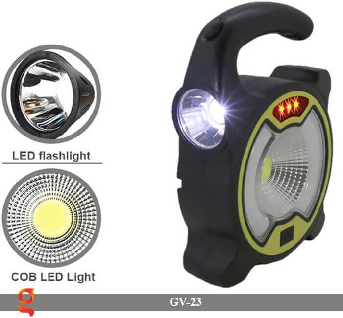 Đèn Led cầm tay năng lượng mặt trời GV-23 5