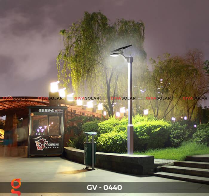 Đèn chiếu sáng đường năng lượng mặt trời GV-0440 4