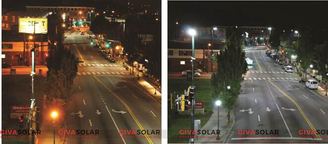 Đèn led năng lượng mặt trời có cảm biến chuyển động 13