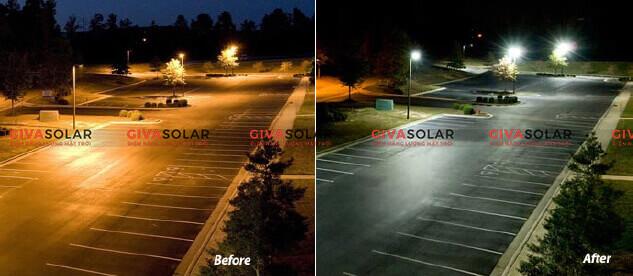 Đèn led năng lượng mặt trời có cảm biến chuyển động 11