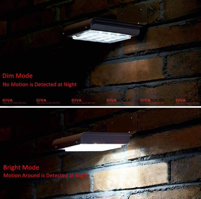 Đèn led năng lượng mặt trời có cảm biến chuyển động 3
