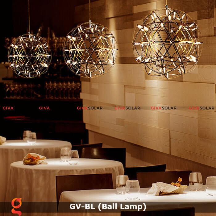 Đèn LED quả cầu trang trí tiệc sự kiện GV-BL 10