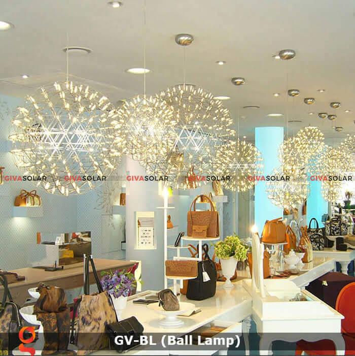 Đèn LED quả cầu trang trí tiệc sự kiện GV-BL 12
