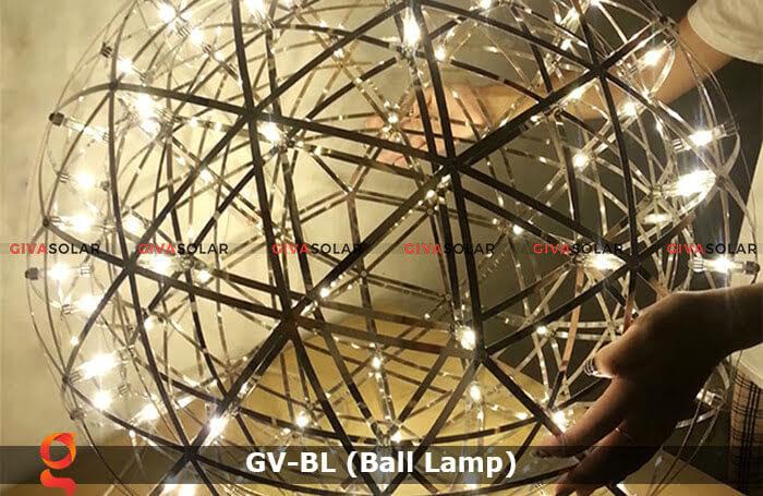 Đèn LED quả cầu trang trí tiệc sự kiện GV-BL 2