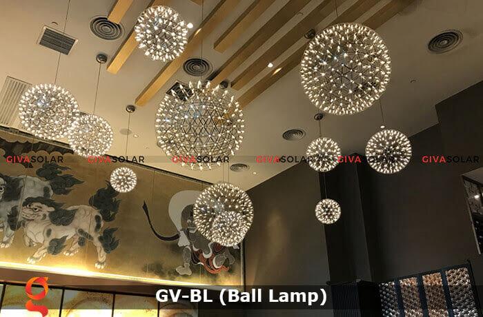 Đèn LED quả cầu trang trí tiệc sự kiện GV-BL 3