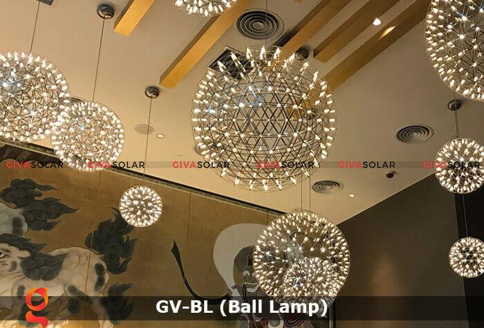 Đèn LED quả cầu trang trí tiệc sự kiện GV-BL 7