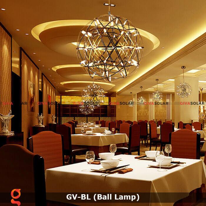 Bí quyết chọn đèn trang trí cho nhà hàng, quán ăn 4