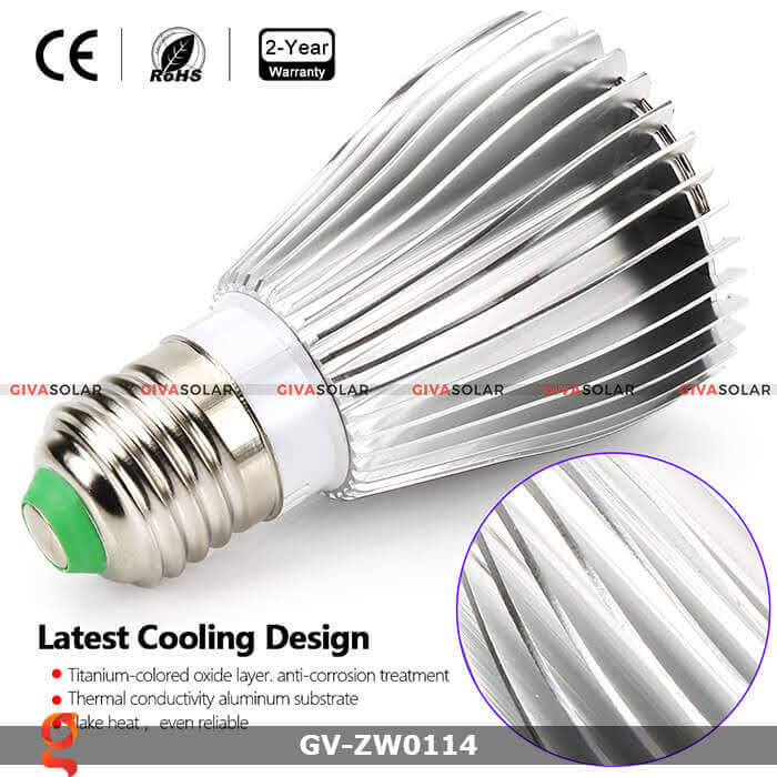 den led quang hop trong cay GV-ZW0114 30w 5
