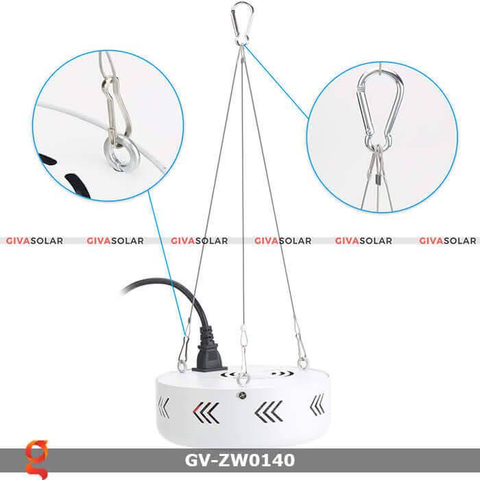 Đèn led quang hợp trồng cây GV-ZW0140 10