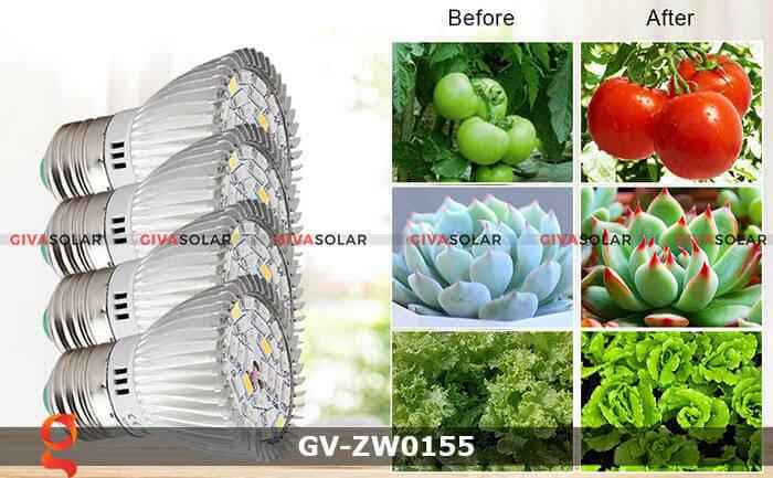Đèn led quang hợp cho cây trồng GV-ZW0155 28W 1
