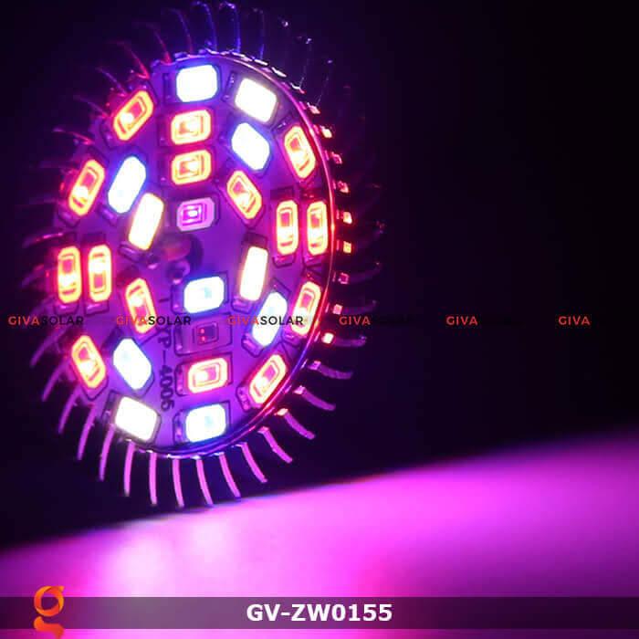 Đèn led quang hợp cho cây trồng GV-ZW0155 28W 2