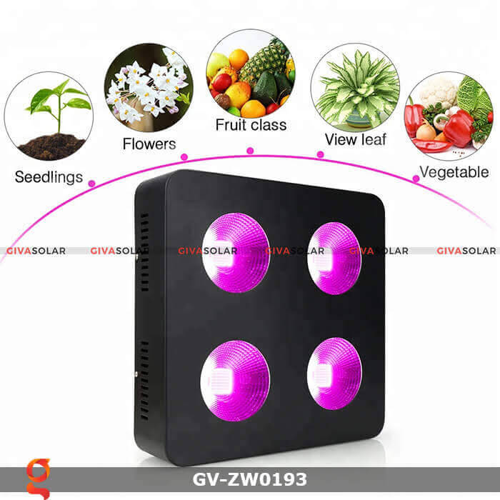 Đèn led quang hợp cho cây GV-ZW0193 1