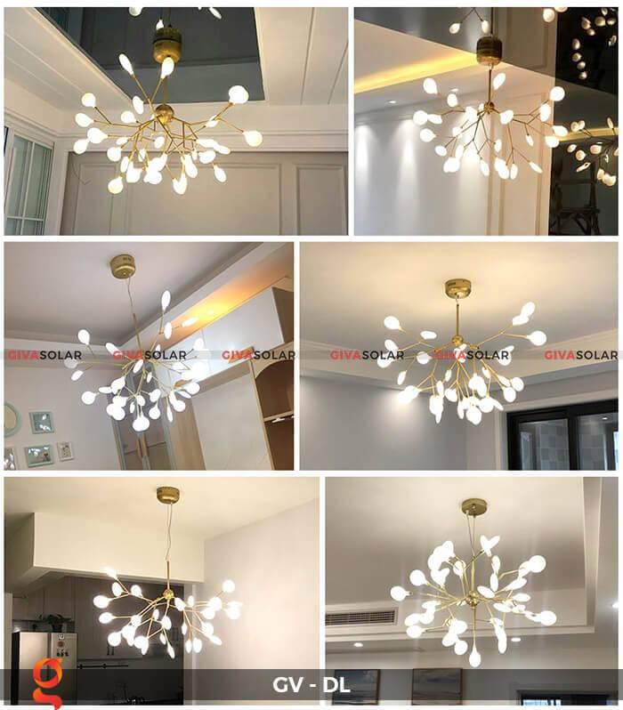Đèn led trang trí phòng khách, nhà hàng GV-DL 1
