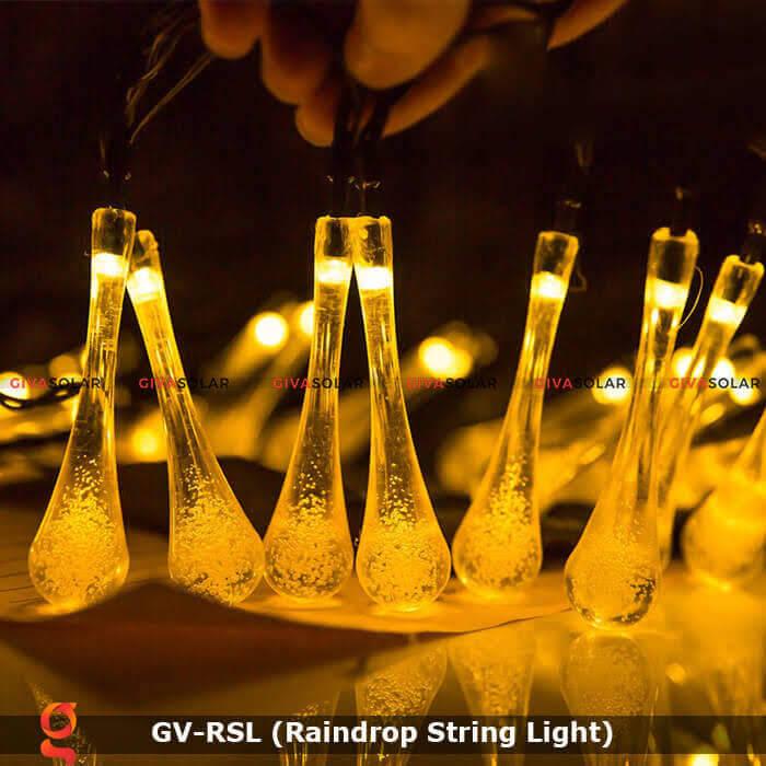 Đèn led trang trí hiệu ứng giọt mưa GV-RSL 1