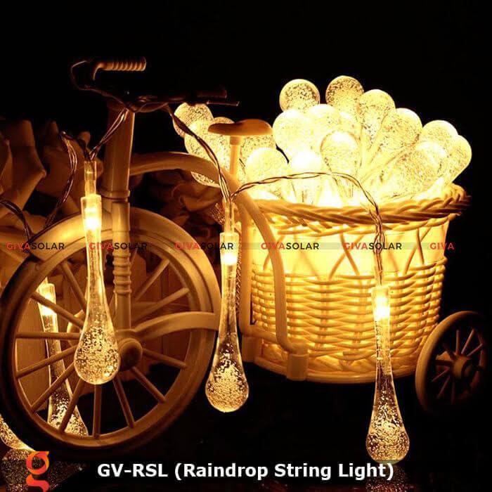 Đèn led trang trí hiệu ứng giọt mưa GV-RSL 15