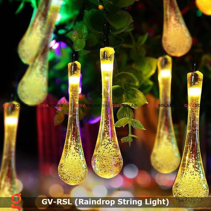 Đèn led trang trí hiệu ứng giọt mưa GV-RSL 16