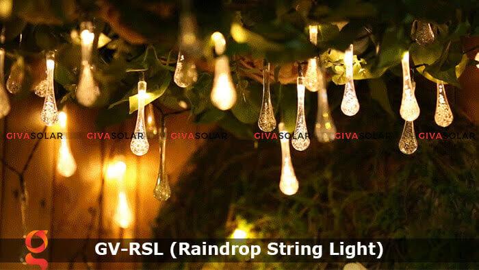 Đèn led trang trí hiệu ứng giọt mưa GV-RSL 18