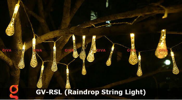Đèn led trang trí hiệu ứng giọt mưa GV-RSL 19