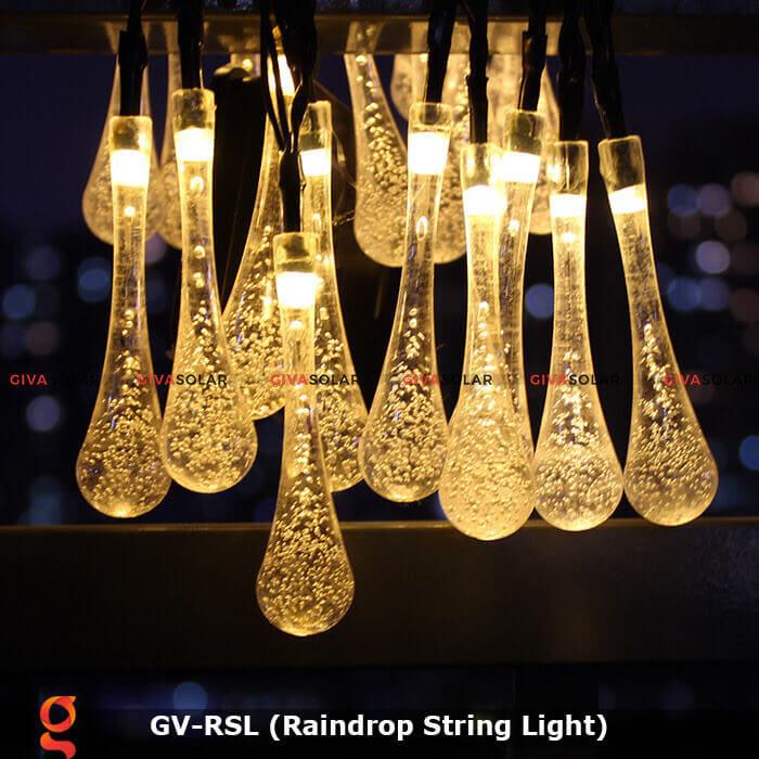 Đèn led trang trí hiệu ứng giọt mưa GV-RSL 20
