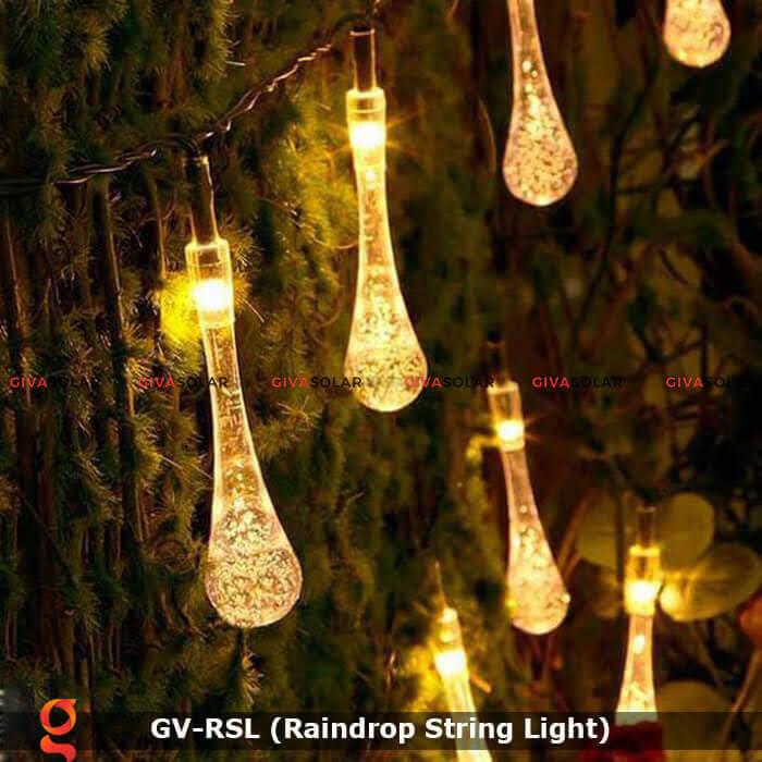 Đèn led trang trí hiệu ứng giọt mưa GV-RSL 6