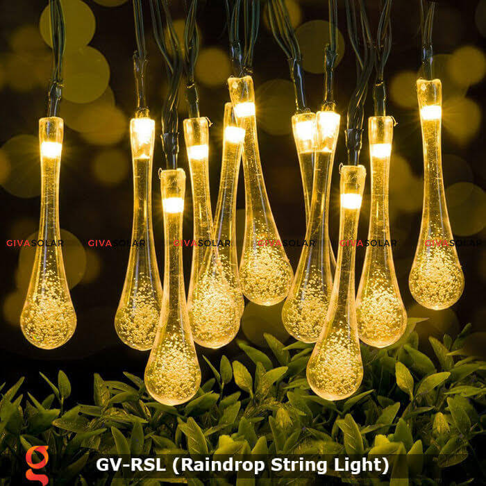 Đèn led trang trí hiệu ứng giọt mưa GV-RSL 8