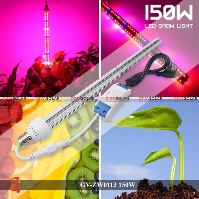 Đèn Led quang hợp loại treo GV-ZW0113-2 150W 13