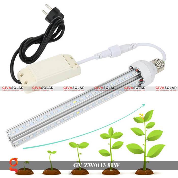 Đèn led trồng cây loại treo GV-ZW0113-1 80W 2
