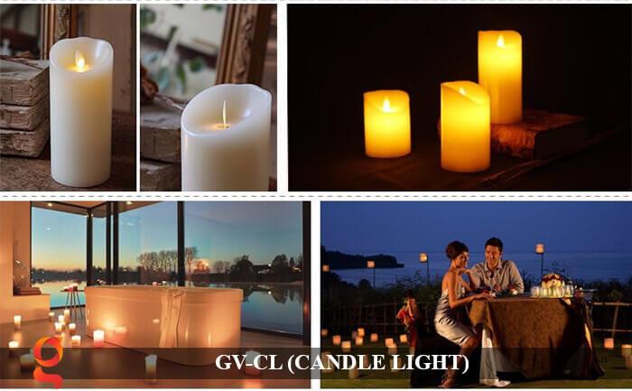 Đèn LED trang trí hình cây nến GV-CL 12