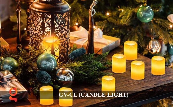 Đèn LED trang trí hình cây nến GV-CL 13