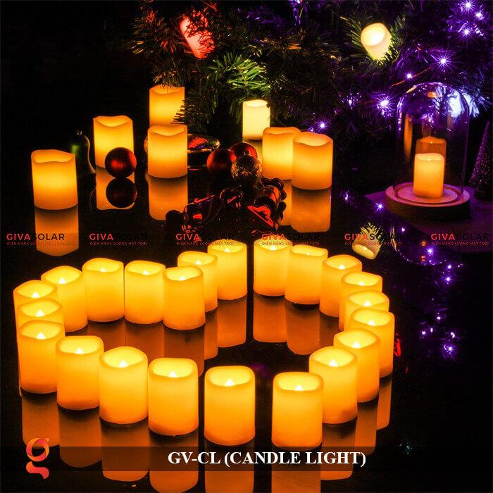 Đèn LED trang trí hình cây nến GV-CL 14