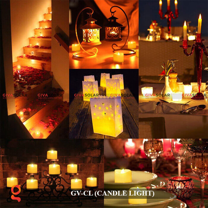 Đèn LED trang trí hình cây nến GV-CL 15