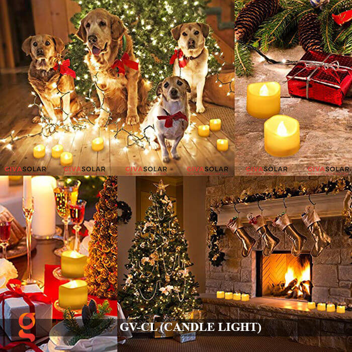 Đèn LED trang trí hình cây nến GV-CL 16