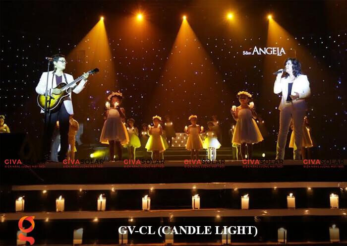 Đèn LED trang trí hình cây nến GV-CL 17
