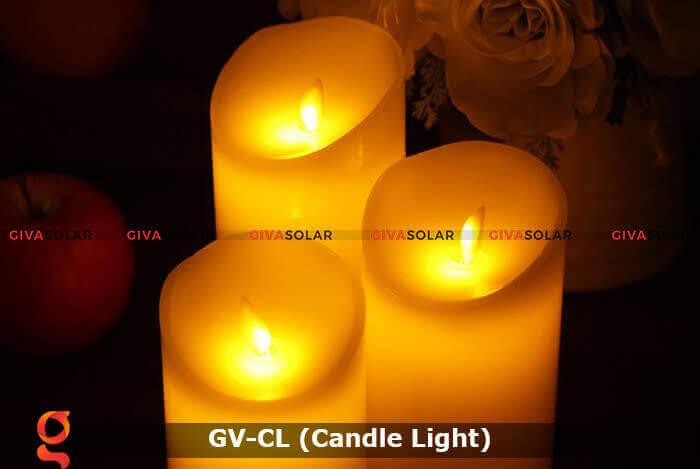 Đèn LED trang trí hình cây nến GV-CL 3
